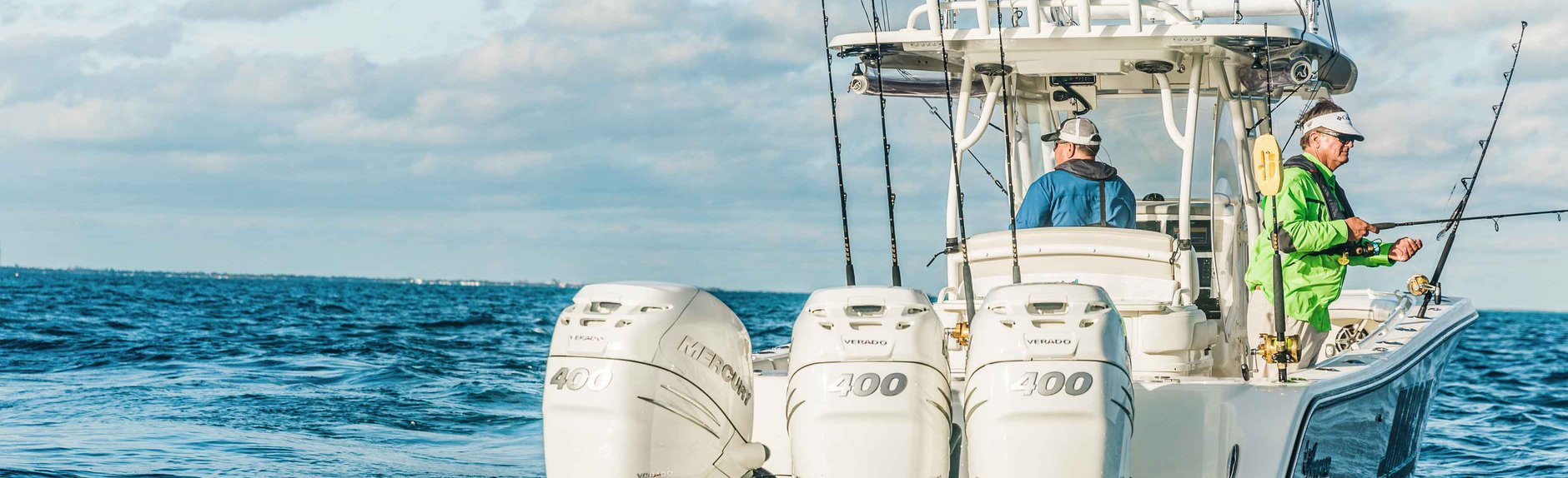 Mercury 400 outboards